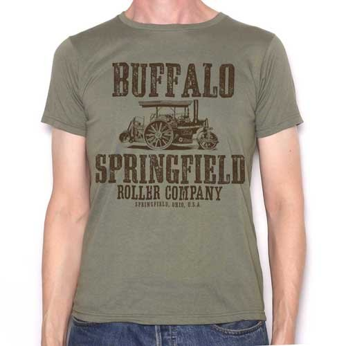 Buffalo Springfield T Shirt - Classic Tractor Roller