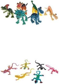 MagiDeal 12Pcs Modèle Animal Animal Animal Lézard / Dinosaures Réaliste Figurine Jouet Science éducatif Naturel Pour   | Belle  e6b7fd