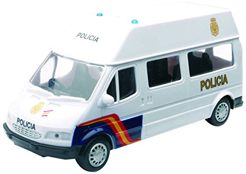 New Ray Furgoneta Policía Nacional, 1:32, color blanco (56083)