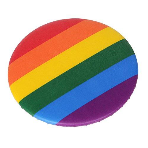 TRIXES Regenbogen-Pin Rainbow Anstecknadel LGBT Support Peace Gay Pride Diversity Abzeichen NEUHEIT