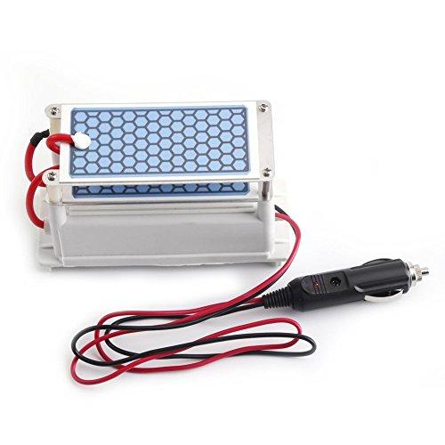 DC 12V 10g / H Auto Ozon Generator Luftreiniger Auto Ozon Maschine Ozon keramischen Platten -