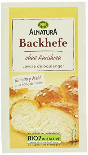 Hefe Glutenfrei (Alnatura Bio Backhefe, glutenfrei, vegan, 25er Pack (25 x 9 g))