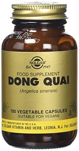 Solgar Dong Quai Vegetable Capsules - Pack of 100 Test