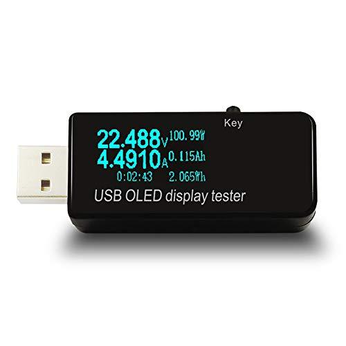 Harddo USB Multi-Function Detector, Mobile Phone Charging Protector Usb Current Voltage Test Usb Voltage Tester