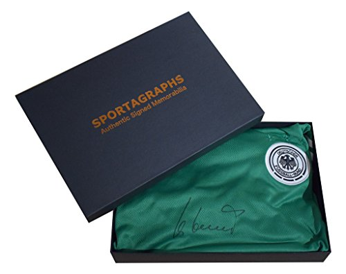 Sportagraphs-Uli-Hoeness-SIGNED-Autograph-Official-Germany-Shirt-Tags-New-AFTAL-COA-Gift-Box-PERFECT-GIFT