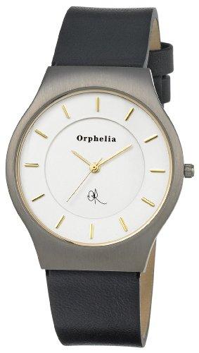 Orphelia OR22670624 - Orologio da polso uomo, pelle, colore: nero