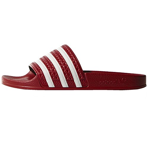 Adidas Badelatschen Adilette 288193 Rot, Schuhgröße:40.5