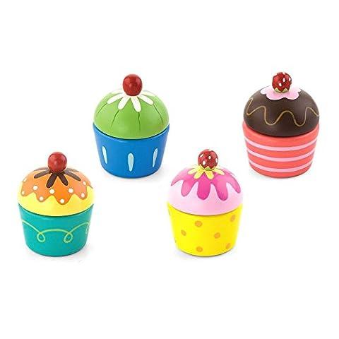 Viga - Cupcakes à assembler - en bois