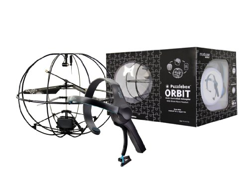 Puzzlebox Orbit Brain-Controlled Helicopter / MindWave Mobile Bundle