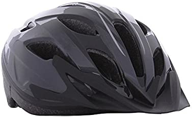 BTWIN 100 CYCLING HELMET - GREY 54-58CM