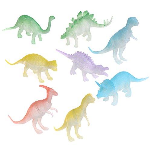 ZOOMY 8 stücke Im Dunkeln leuchten Nachtleuchtende Dinosaurier -
