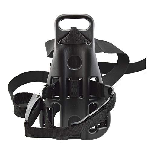 LNIMIKIY Oxygen-Zylinderunterstützung Anti-Rutsch-Rücken-Halterung, Zubehör, langlebig, tragbar, Taucher-Tankhalterung, Schnorchel-Rucksack, praktisch