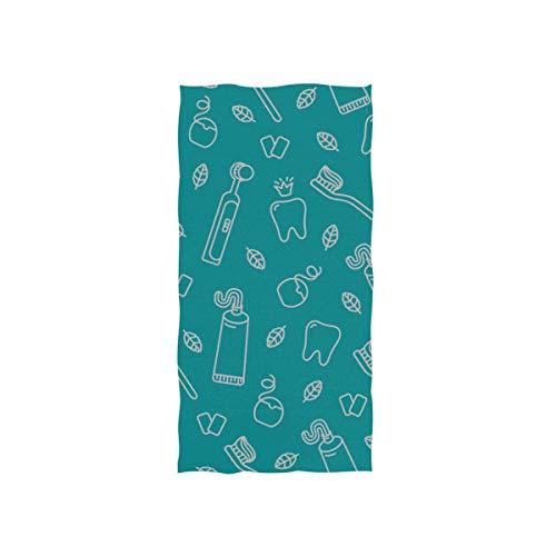Zahnbürste und Zahnpasta Soft Spa Badetuch Fingerspitze Handtuch Waschlappen Für Baby Erwachsene Badezimmer Strand Dusche Wrap Hotel Travel Gym Sport 30x15 Zoll