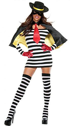 amburger Dieb Gr. S/M (Starline Halloween Kostüme)