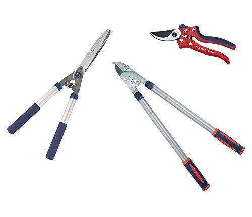 Spear & Jackson Razorsharp Schneidwerkzeug-Set 3-teilig (Bypass Lopper Duty)