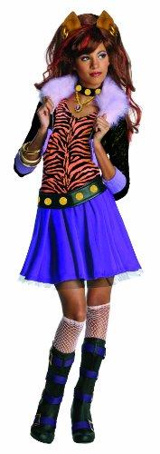 r High™ Kostüm für Mädchen - Fashionista - 3-4 Jahre (Clawdeen Wolf Kostüm Große)