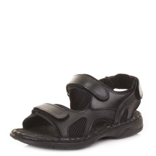 mens-real-leather-outdoor-summer-sandals-size-9