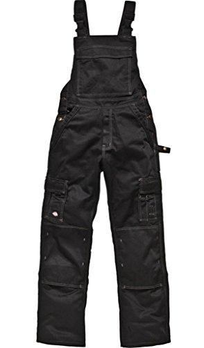 Preisvergleich Produktbild DICKIES Latzhose Arbeitshose IN30040 INDUSTRIE schwarz Gr: 56