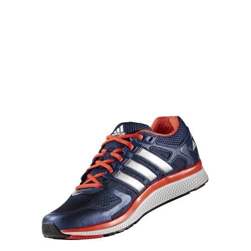 adidas, Scarpe da corsa uomo Blu-Arancione