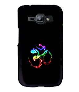 printtech Smokey Om Namah Shivaya Back Case Cover for Samsung Galaxy J1::Samsung Galaxy J1 J100F
