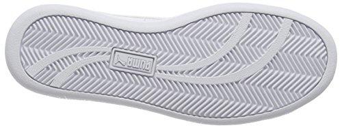 Puma Smash L, Sneaker Unisex-Adulto Bianco (White)