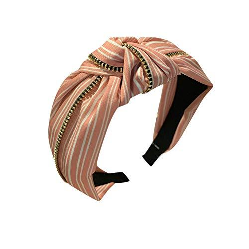 Fermaglio Ornamento Fascia Lato Moda Donna Fine Per Sciarpa Striscia Topkeal Capelli Semplice qUpzVSM