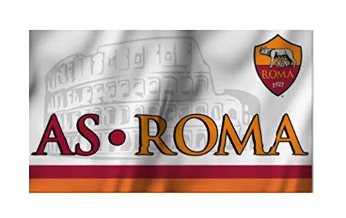 Bandera as roma 100x 140cm producto oficial Official Flag