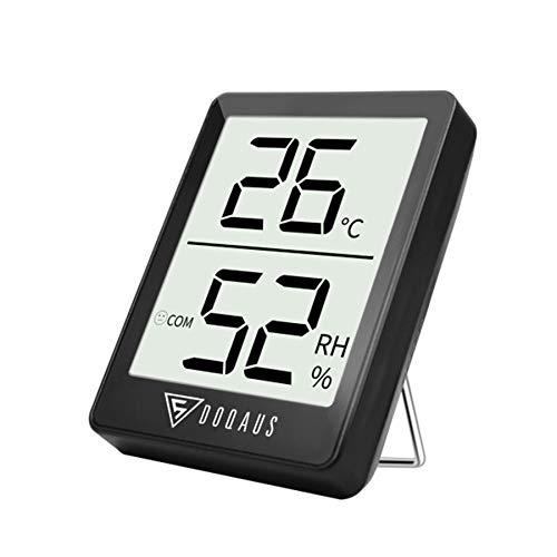 DOQAUS Thermometre/Hygromètre Intérieur, Hygrometre Interieur de Haute Précision, ℃/℉Commutable, pour Détecter...
