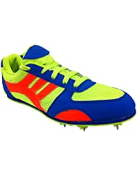 TETHEEZ Multicolour Running Spikes Shoes For Women