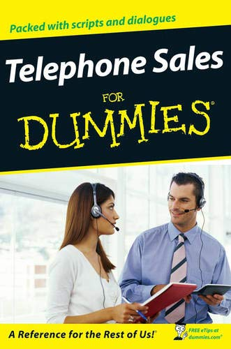 Telephone Sales for Dummies (For Dummies Series)