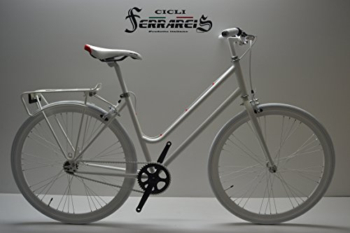 FIXED BIKE SINGLE SPEED BICICLETA SINGLE SPEED BICICLETA FIJACION FIJO 1 V BLANCA FIXIE