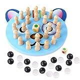 BOLANA Familia Juego para Fiesta Partido Stick Ajedrez Juego Infantil Memoria Color Ajedrez Game Color Cognitivo Capacidad Juguete para Niños - Cat, 1 Set