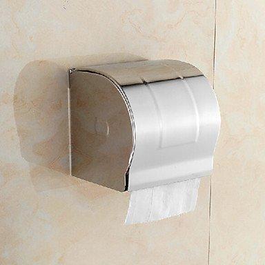 XX&GX Acciaio inossidabile a parete chiuso Holder Toilet Paper, 5