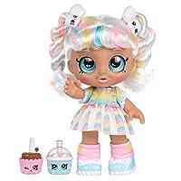 Kindi Kids S1 Toddler Doll Sgl Pk - Snack Time Fun Marshamello, Multi-Colour, 50009, 1