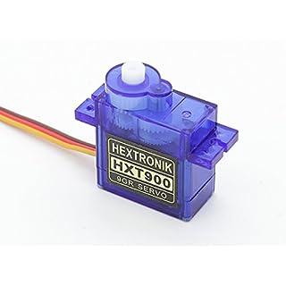 Hextronik HXT900 9g / 1.6kg / 0,12 sec extrem schnelles Micro Servo für Helis, Shockflyer, Parkflyer, Indoor und viele andere kleine Modelle von Modellbau Eibl