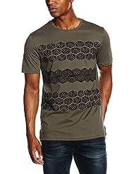 Antony Morato Stampa 70's Stripes, T-Shirt Homme
