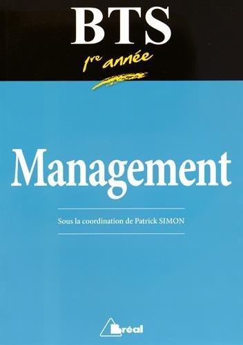 Manuel de BTS management 1re année