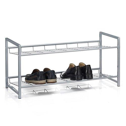 CARO Möbel Schuhregal SYSTEM Schuhständer Schuhablage Mit 2 Fächern Für Ca.  8 Paar Schuhe