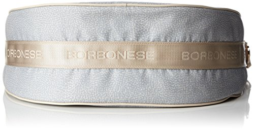 Borbonese 934777296, sac bandoulière Grigio (Light Grey)