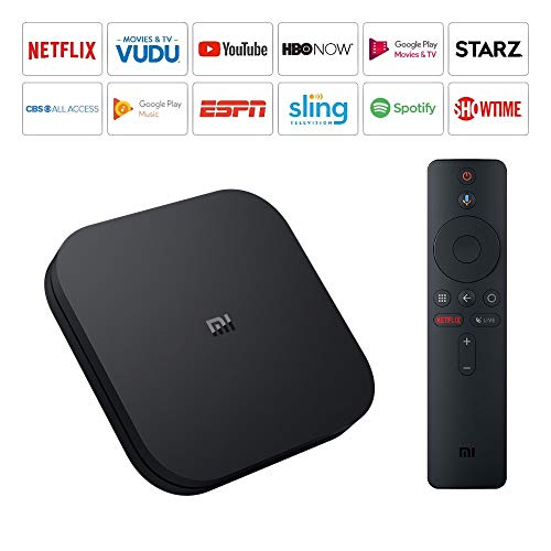 Mi Box S 4k Ultra HDR Doliby DTS Android 8.1 TV Player