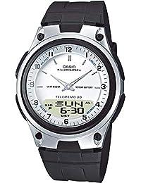 Casio Reloj Analógico-Digital para Hombre de Cuarzo con Correa en Resina AW-80