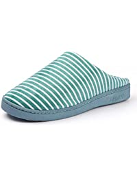 5aab105c0cf SLIPPERS Zapatillas De Algodón Femenino Invierno Interior Casa  Antideslizante Felpa Flip Flop Cómodos Zapatos Calientes,