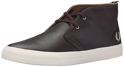 Fred Perry Fp Vernon Mid, Stivali uomo marrone Size: EU 45 (UK 10)