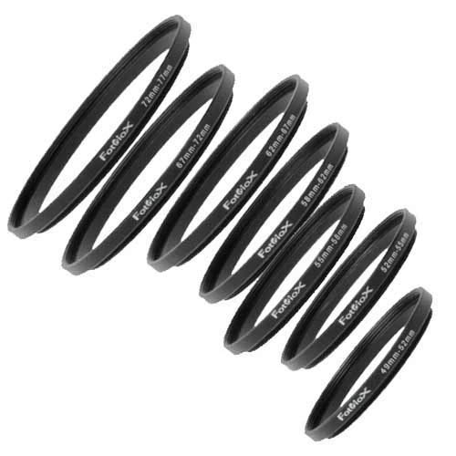 Fotodiox Metal Step Up Ring Filter Adapter, Anodized Black Aluminum 39mm-58mm, 39-58 mm,04sr3958 39mm-adapter