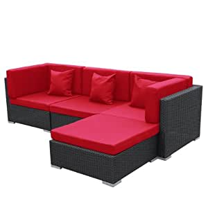 gartenmoebel bergen aus aluminium garten moebel polyrattan lounge schwarz rot sitzgruppe. Black Bedroom Furniture Sets. Home Design Ideas