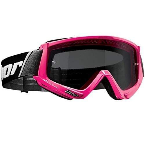 Thor MX Brille COMBAT SAND - neon-pink