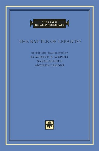 The Battle of Lepanto (The I Tatti Renaissance Library) por Elizabeth R. Wright