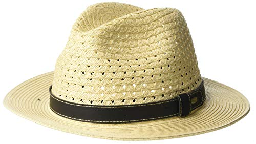 d0f705c2 UV safari braided hat for Men from Scala - Natural