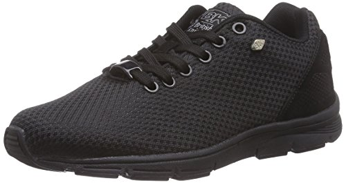 British Knights Jump Damen Sneakers Schwarz (Black-Black 10)