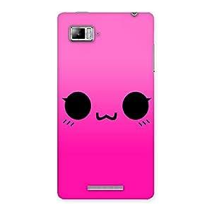 Special Pink Smile Face Back Case Cover for Lenovo Vibe Z K910